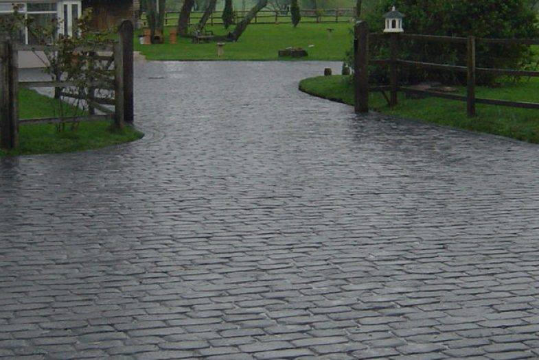 Durable Concrete Imprinted Driveways in Codsall