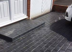 New Sealed Steps and Driveways for Codsall Homes